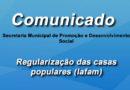 Regularização casas populares (Iafam)