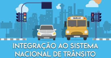 DENATRAN aprova a integração de Queluz ao Sistema Nacional de Trânsito.