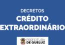 Decretos acerca da abertura de crédito extraordinário 07/2020; Saúde e Social;